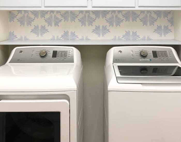 Blue White Laundry Room Update Resized Watermark 7