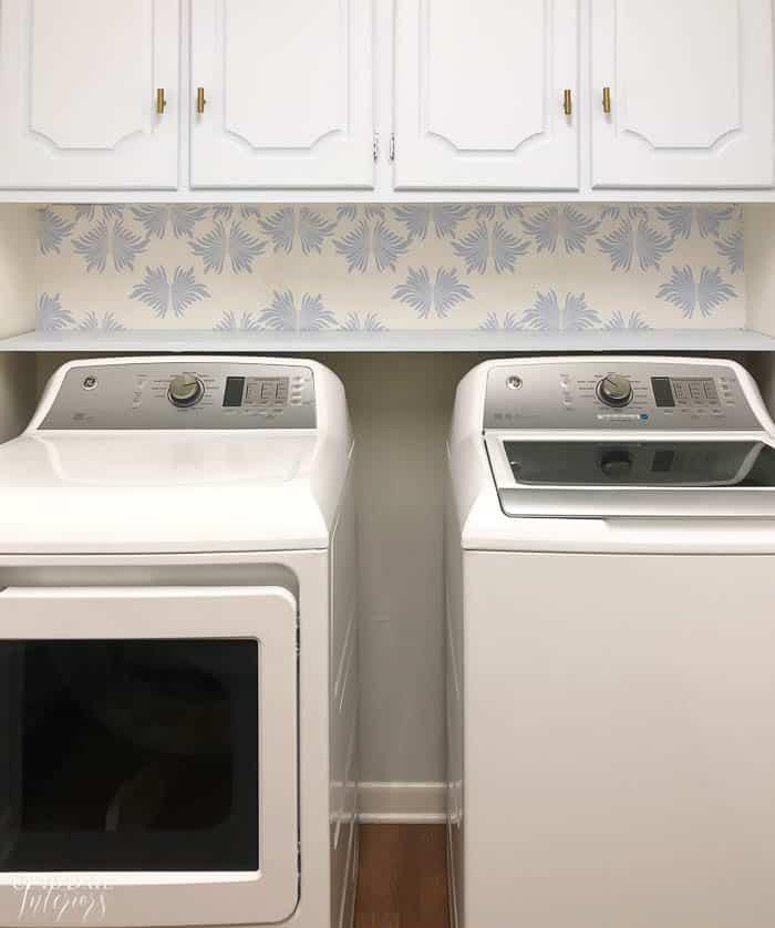 Blue White Laundry Room Update Resized Watermark 7