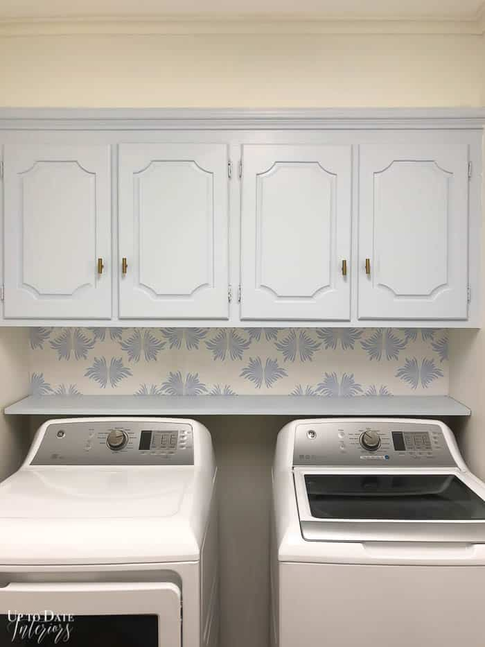Blue White Laundry Room Update Resized Watermark 8