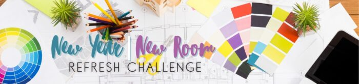 New Year New Room Refresh Challenge 2021