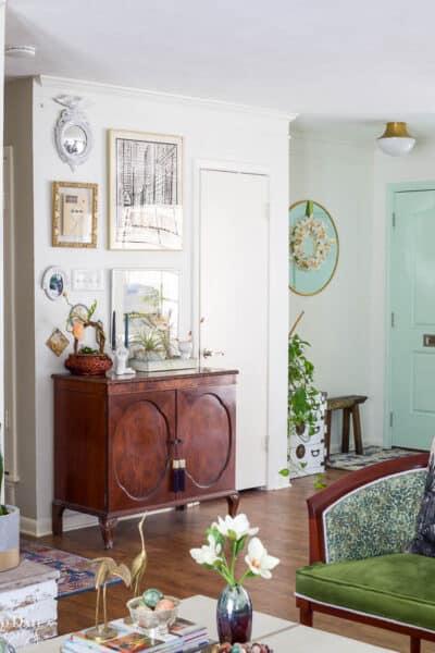 Boho Easter Baskset Spring Living Room Wm Resized 10