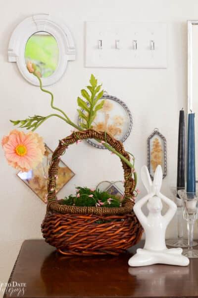 Boho Easter Baskset Spring Living Room Wm Resized 2