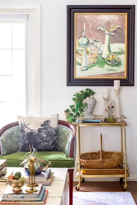 Boho Easter Baskset Spring Living Room Wm Resized 3