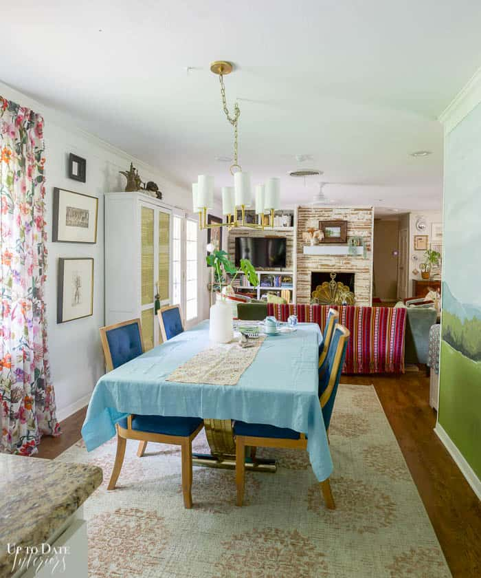 Living And Dining Rooms Summer Home Tour Decorating Ideas
