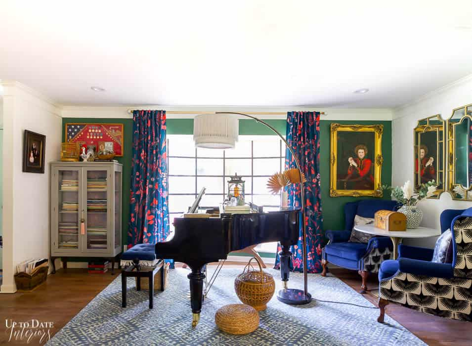 Summer Home Decor Lifestyle Piano Studio Foyer 12
